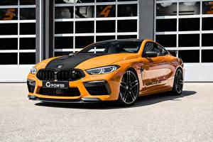 Sfondi desktop BMW Arancione Metallico 2021 G-Power G8M Hurricane RR