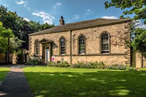 Bilder England Haus Rasen Ripon, Old Courthouse Städte