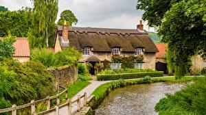 Hintergrundbilder England Haus Dorf Thornton Dale
