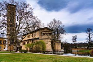 Bakgrunnsbilder Tyskland Berlin Borg Potsdam, Castle of the Prussian kings en by
