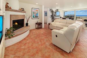 Images Interior Design Lounge sitting room Sofa Fireplace