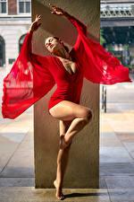 Fotos & Bilder Bein Kleid Tanz Mädchens