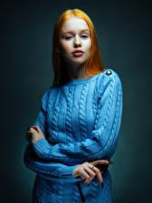 Bilder Rotschopf Starren Lisa, Nikolay Bobrovsky