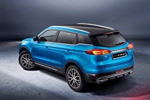 壁紙,蓝色,金屬漆,跨界休旅車,Proton X70 Special Edition, 2021,汽车,