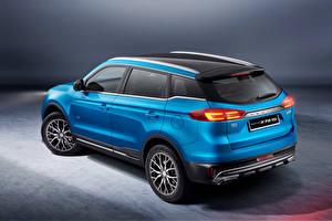 Fotos Blau Metallisch Softroader Proton X70 Special Edition, 2021 Autos