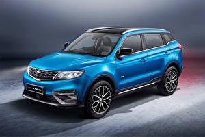 壁紙,跨界休旅車,蓝色,金屬漆,Proton X70 Special Edition, 2021,汽车,