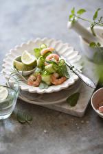 Picture Salads Vegetables Caridea Plate
