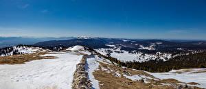 Sfondi desktop Svizzera Montagne Panoramica Alpi Neve  Natura