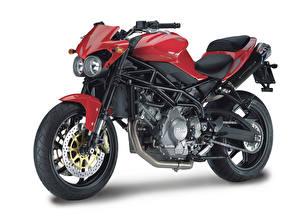 Tapety na pulpit Na białym tle Widok z boku 2007-21 Moto Morini Corsaro 1200 Veloce Motocykle