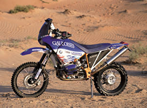 Papel de Parede Desktop BMW - Motocicleta Tuning Lateralmente 1999-2000 R 1100 GS-RR Motocicleta imagens
