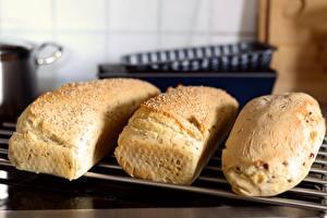 Desktop wallpapers Bread Baking Three 3 Food
