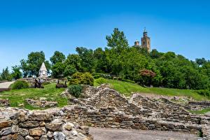 Fonds d'écran Bulgarie Fortification Fortress Tsarevets
