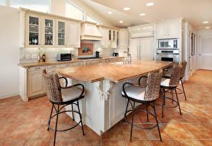 Bilder Innenarchitektur Design Küche Tisch Stühle