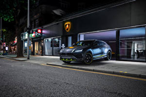 Fonds d'écran Lamborghini Grise 2020-21 Urus Graphite Capsule Voitures