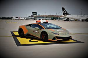 Fonds d'écran Lamborghini Tuning Grise  voiture