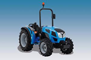 Papel de Parede Desktop Trator Azul Landini 2-050 GE, 2016 --