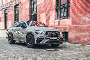 Bilder Mercedes-Benz Graue Metallisch Crossover 2021 Brabus 900 Rocket Edition