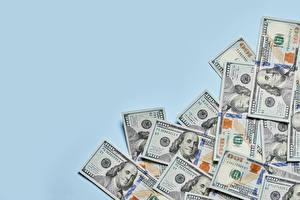 Fondos de escritorio Dinero Papel moneda Dólar Fondo de color