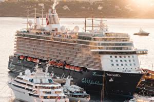 Fonds d'écran Monte-Carlo Monaco Navire de croisière Quai Mein Schiff 5