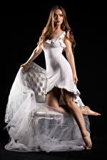 Bakgrunnsbilder Silvy Sirius Modell Kjole Ser Blikk