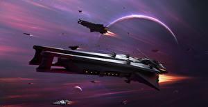 Bakgrunnsbilder Stjerneskip Star Conflict Flyging videospill