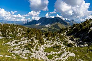 Bilder Schweiz Berg Alpen Wolke Leysin