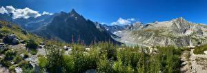 Sfondi desktop Svizzera Montagna Panorama Alpi Bregaglia Natura
