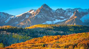 Sfondi desktop Stati uniti Montagna Paesaggio Autunno Colorado Natura