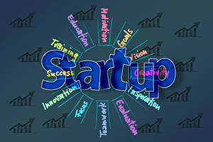 Fondos de escritorio Negocios Palabra Ingleses startup